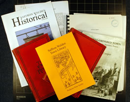 books available concerning the Town Library