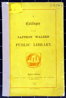 The catalogue of 1870
