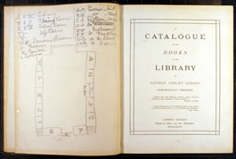 Catalogue of the library of George Stacey Gibson, 1880