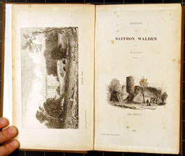 Sketches of Saffron Walden, published in Saffron Walden, by Youngman in 1845